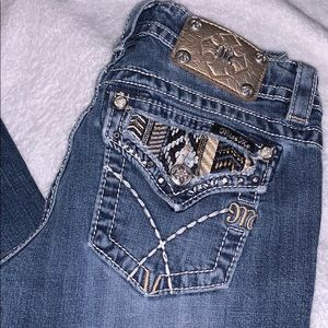 MISS ME Signature Boot Jeans size 27